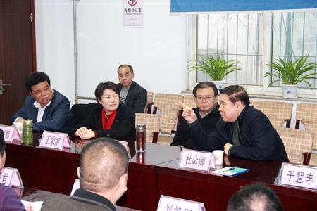 张古江、杜金卿到邢台市店调研指导工作